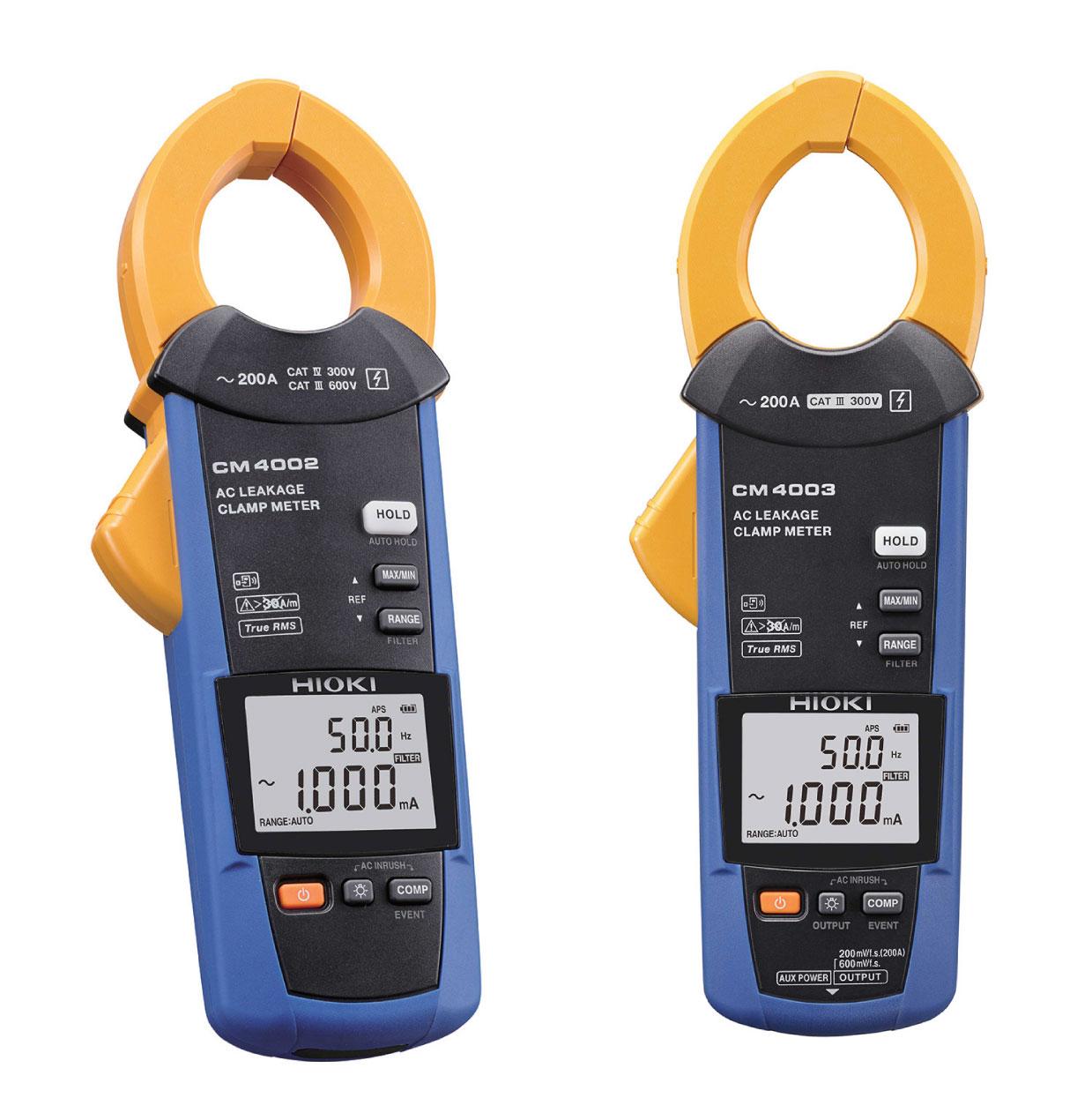 ampe kìm đo dòng rò ac cm4002 cm4003