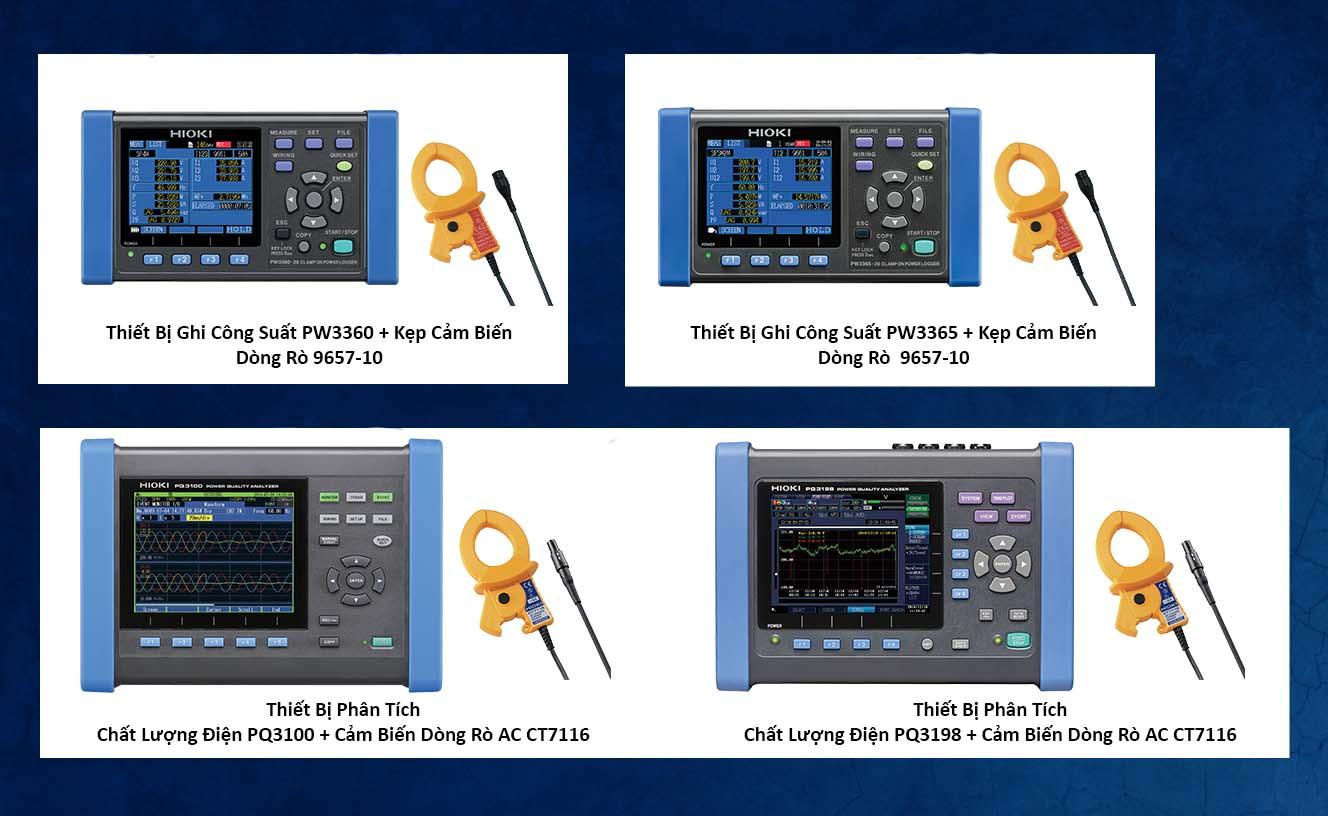 thiết bị hioki ghi công suất - thiết bị phân tích chất lượng điện