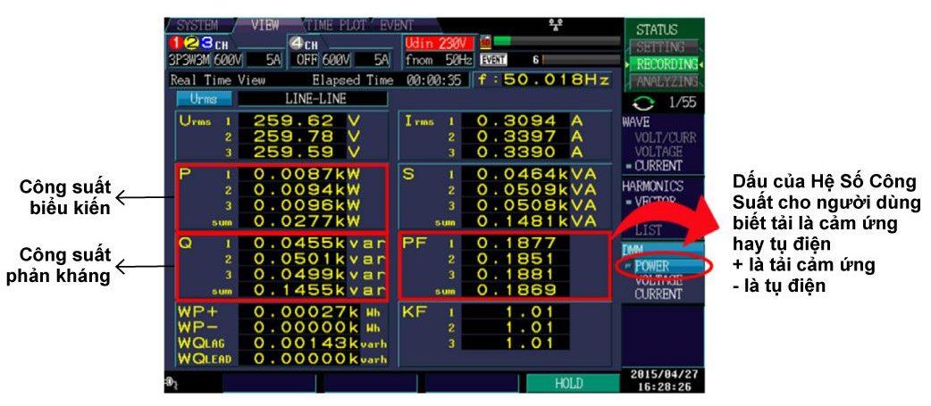 pq3198 & xác định loại tải